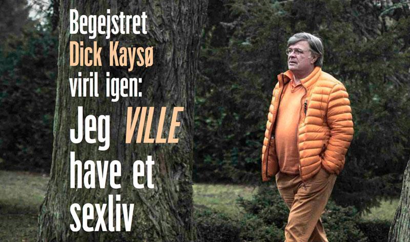 Dick Kaysø fik sit sexliv tilbage