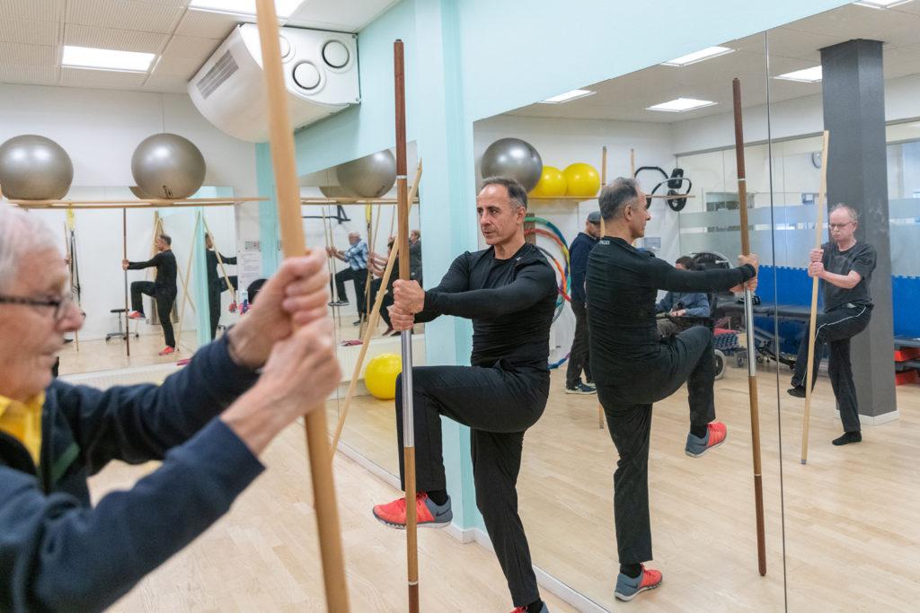 Balance træning StickDo