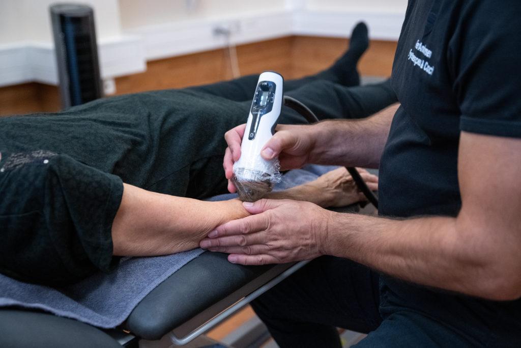 Shockwave-behandlinger på Amager - Fokuseret shockwave-behandling