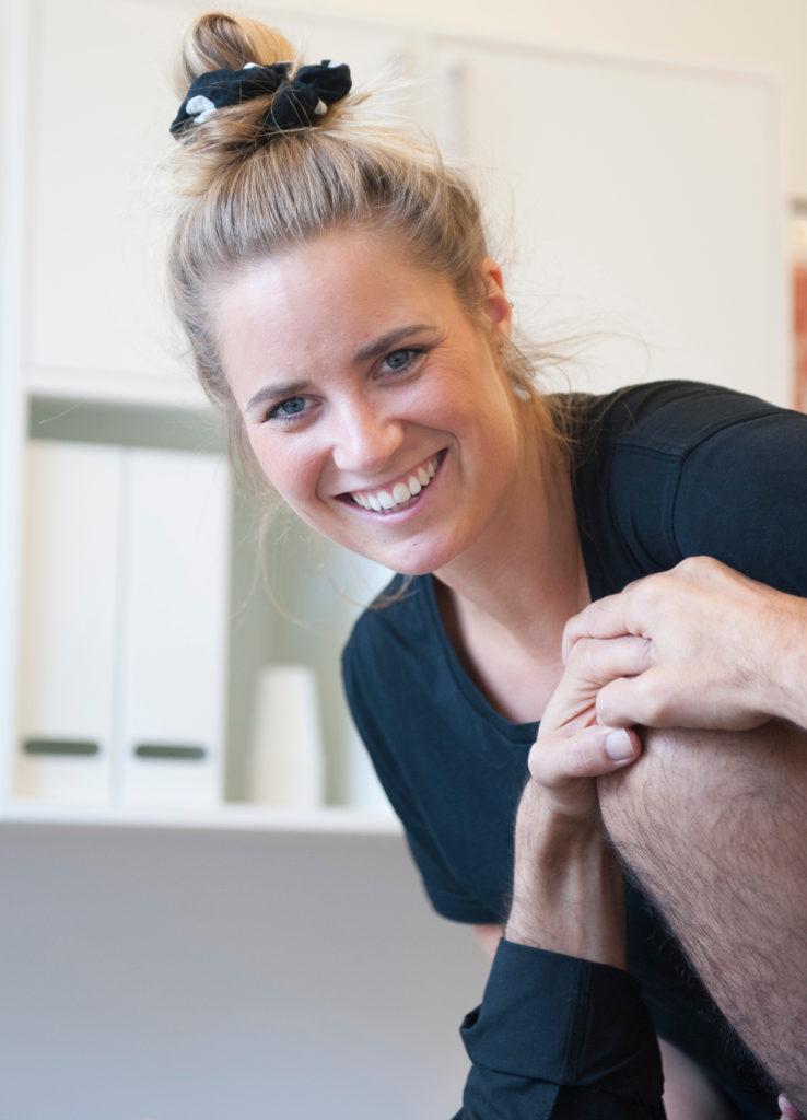 Profilside Cecilie Öhman Roelsgaard Fysioterapeut