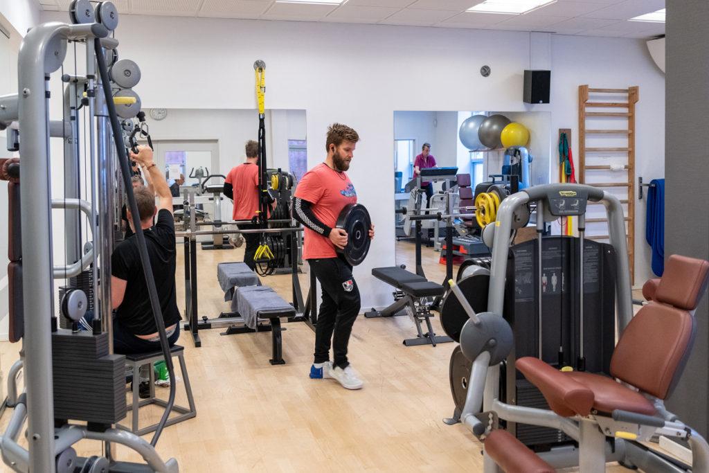 Træningscenter på Amager